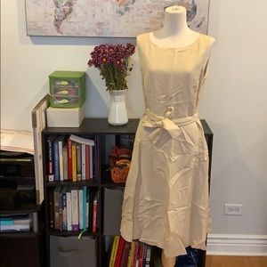 Calvin Klein beige dress with belt